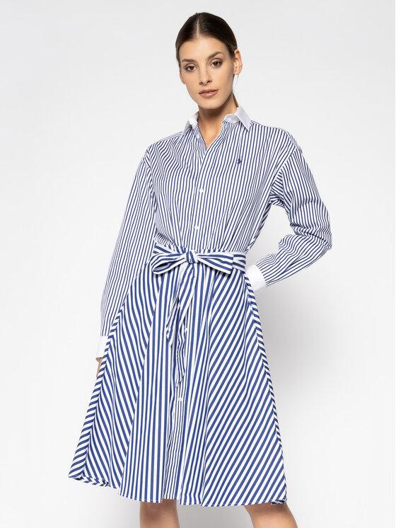 Polo Ralph Lauren Polo Ralph Lauren Rochie tip cămașă 211784850 Colorat Regular Fit