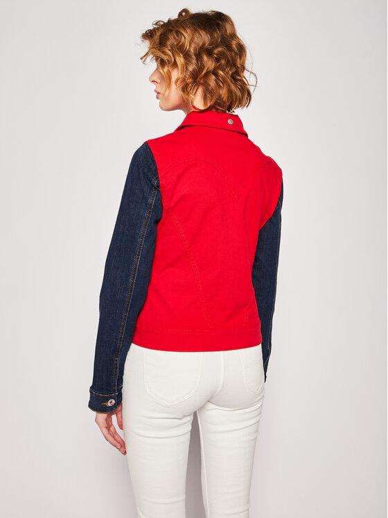 Desigual Farmer kabát Chaq_Duval 20SWEN04 Piros Slim Fit