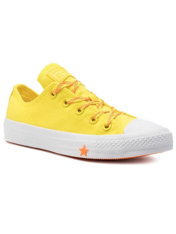 Converse Trampki Ctas Ox 564116C Żółty