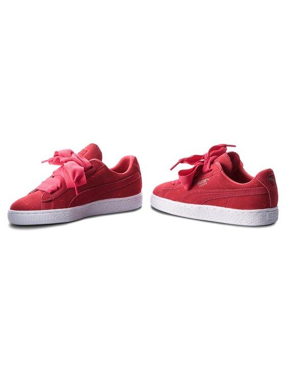 Puma Puma Sneakersy Suede Heart Valentine Jr 365135 01 Różowy