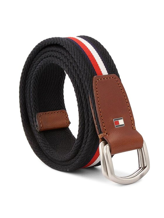 Tommy Hilfiger TOMMY HILFIGER Herrengürtel Corporate Webbing Belt 3.5 AM0AM02219 90