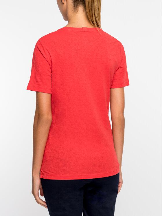 Marc O'Polo Marc O'Polo T-Shirt 907 2155 51393 Czerwony Regular Fit