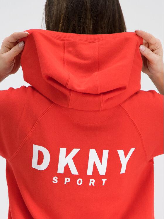 DKNY Sport DKNY Sport Vestito da giorno DP9D4059 Rosso Relaxed Fit