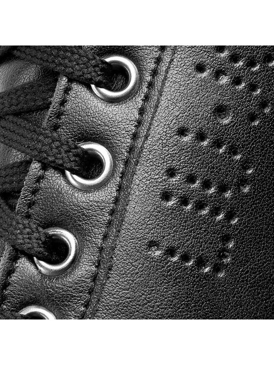 Liu Jo Liu Jo Сникърси Sneaker Zeppa Coton S66031 P0015 Черен