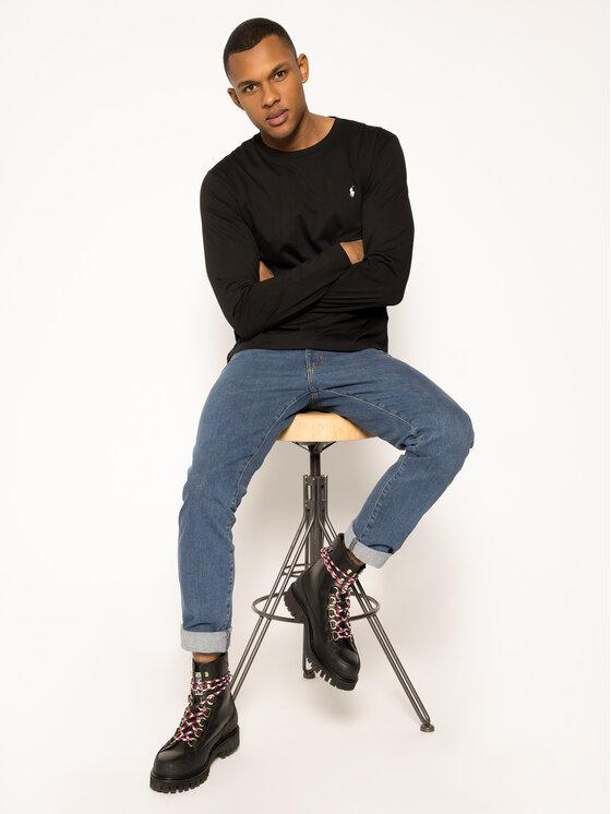 Polo Ralph Lauren Polo Ralph Lauren Тениска с дълъг ръкав 714706746 Черен Regular Fit