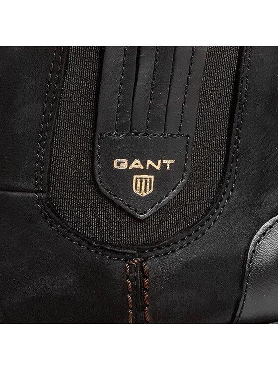 Gant Gant Členková obuv s elastickým prvkom 9554358 Čierna