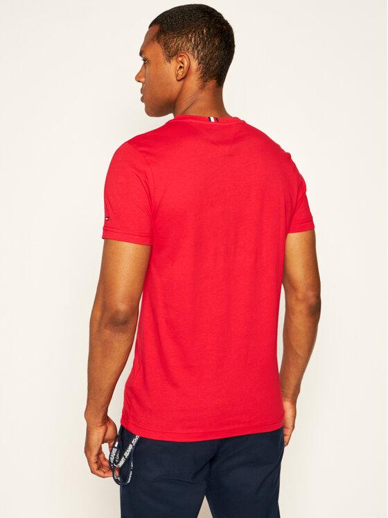 Tommy Hilfiger Tommy Hilfiger T-Shirt Folded Flag Tee MW0MW13349 Κόκκινο Regular Fit