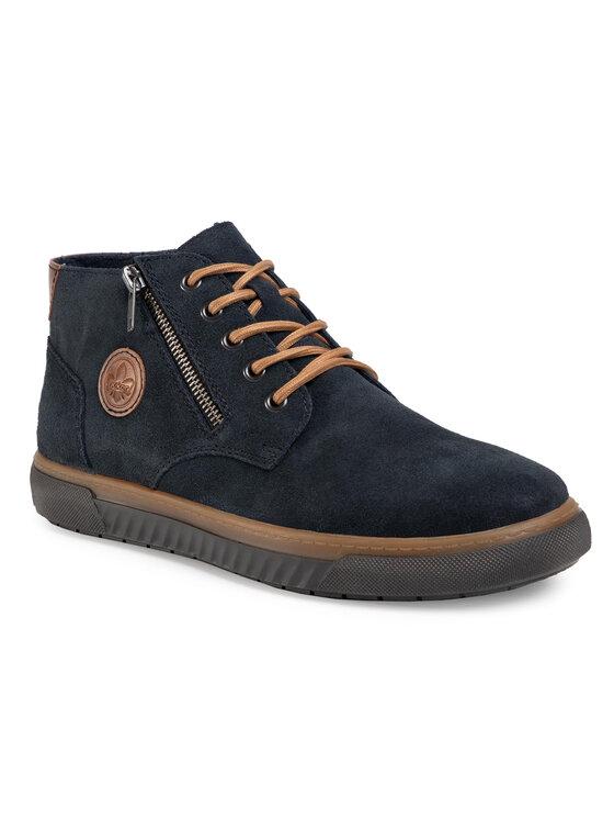 Rieker Auliniai batai 37931-14 Tamsiai mėlyna