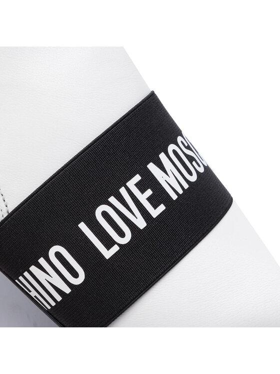 LOVE MOSCHINO LOVE MOSCHINO Botki JA21037G18IB0100 Biały