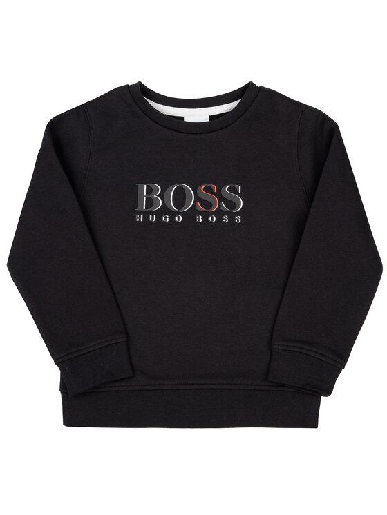 Boss Boss Mikina J25E17 M Čierna Regular Fit