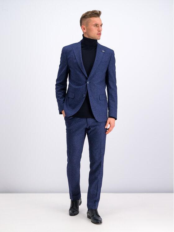 Digel Kostiuminės kelnės 1290182 Tamsiai mėlyna Regular Fit