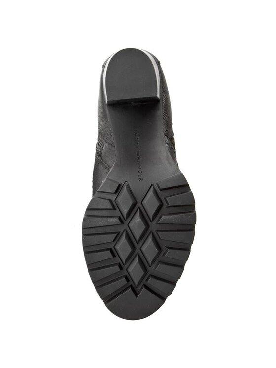 Tommy Hilfiger Tommy Hilfiger Členková obuv Isabella 5A FW56819547 Čierna