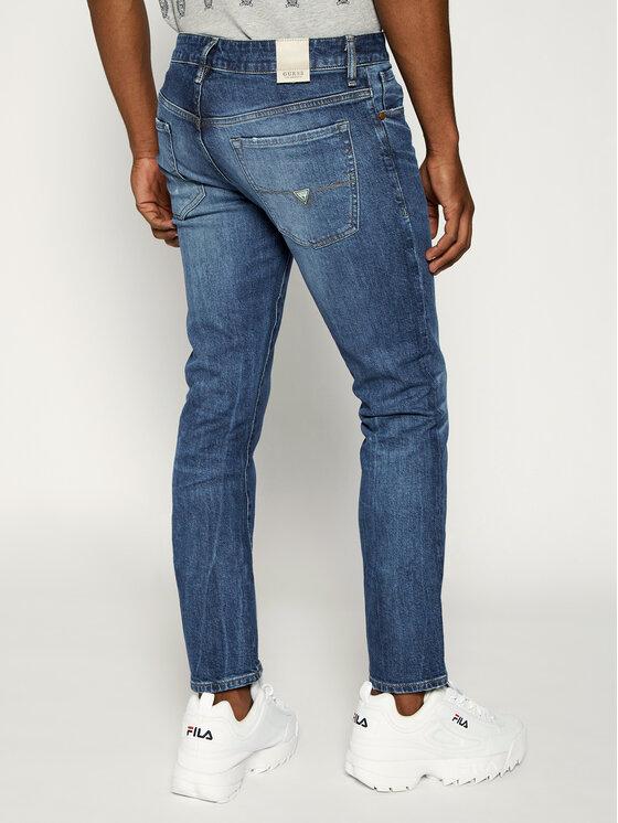 Guess Guess Jeans Slim Fit M92AN2 D3HU1 Blu Slim Fit