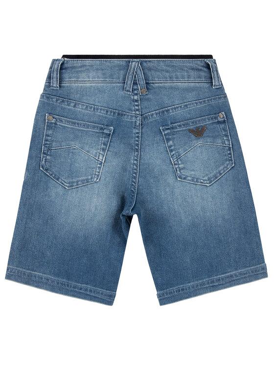 Emporio Armani Emporio Armani Pantaloni scurți de blugi 3H4S12 4DFNZ 0942 Bleumarin Regular Fit