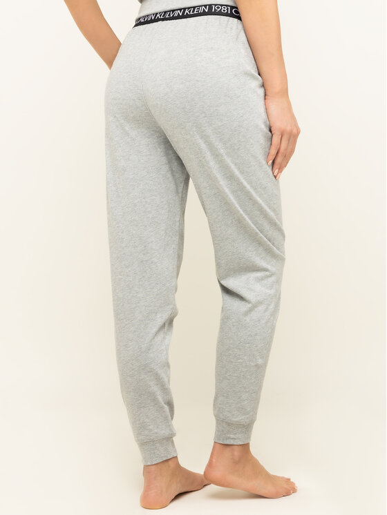Calvin Klein Underwear Calvin Klein Underwear Teplákové kalhoty 000QS6311E Šedá Regular Fit