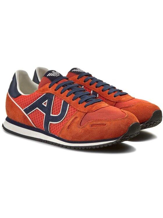 Armani Jeans Armani Jeans Sneakers A6506 13 U9 Portocaliu