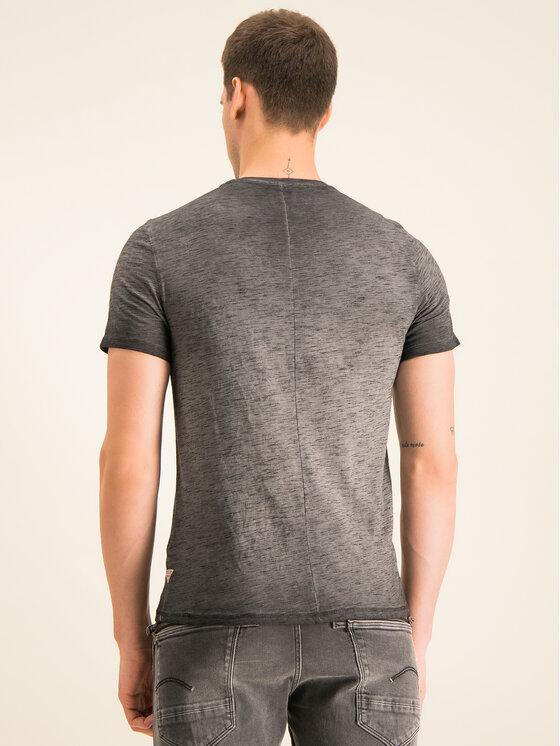 Guess Guess T-Shirt M01I80 K9HL0 Grau Slim Fit