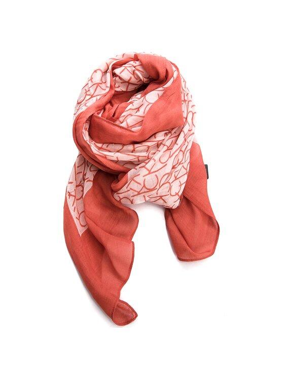 Calvin Klein Calvin Klein Sál Ck Allover Scarf K60K604136 Piros