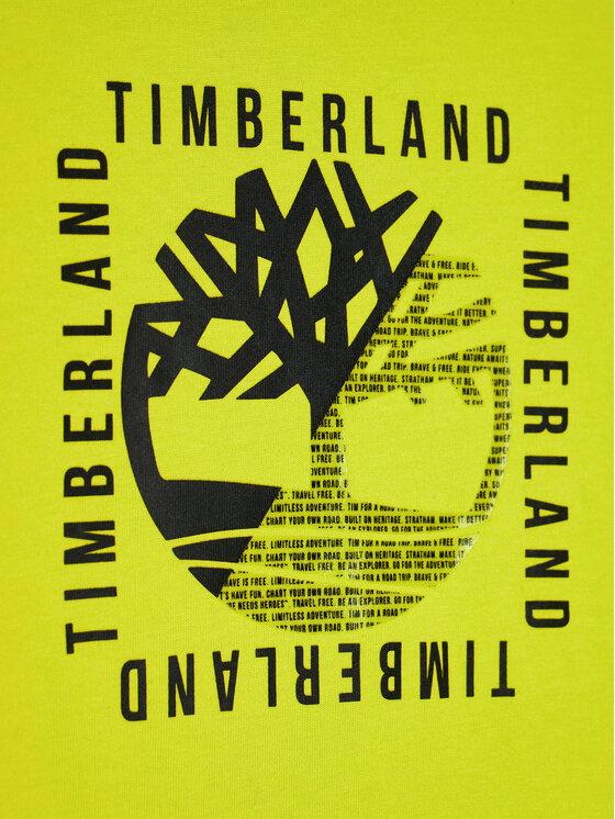 Timberland Timberland Bluzka T25R18 D Zielony Regular Fit