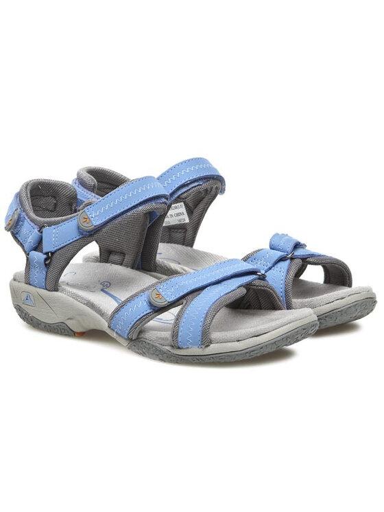 Clarks Clarks Sandály Isna Pebble 203582854 Modrá