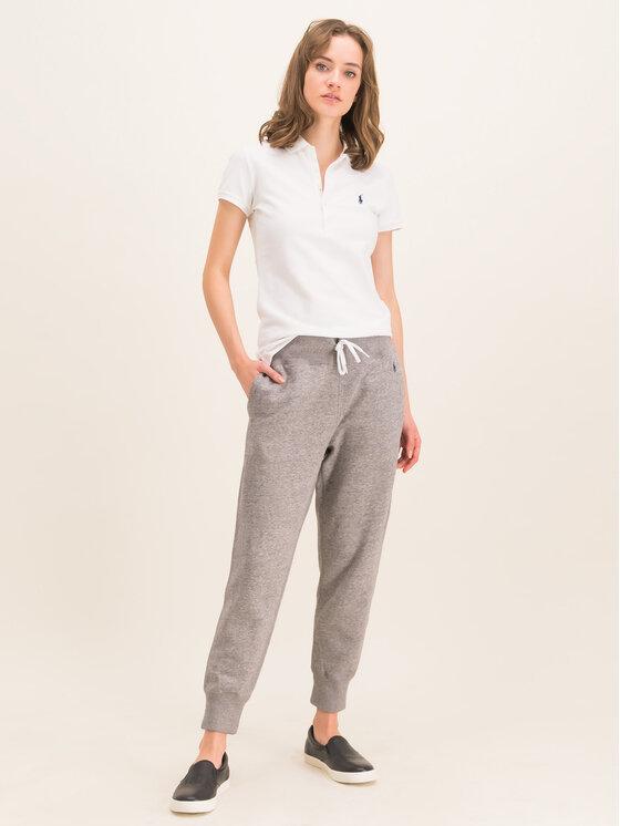 Polo Ralph Lauren Polo Ralph Lauren Teplákové nohavice Akl 211794397004 Sivá Regular Fit