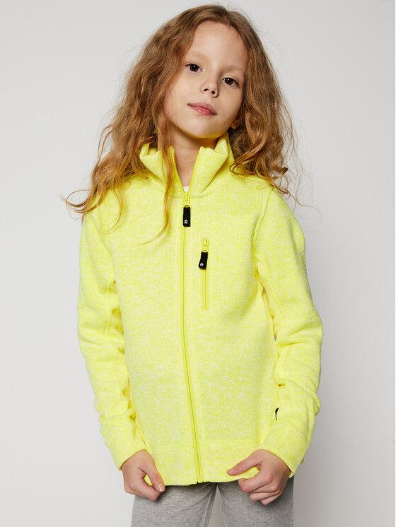 Reima Fliso džemperis Maaret 536466 Geltona Regular Fit