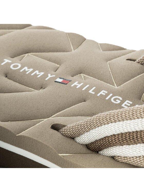 Tommy Hilfiger Tommy Hilfiger Σαγιονάρες Comfort Low Beach Sandal FW0FW02368 Μπεζ