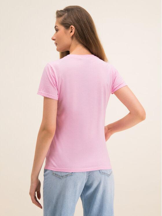 Pinko Pinko T-shirt Bussolano PE 20 BLK01 1G14XB Y651 Rose Regular Fit