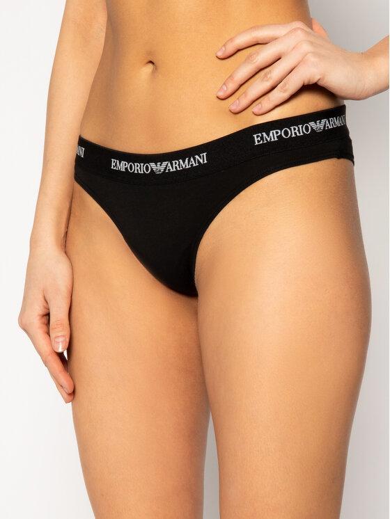Emporio Armani Underwear Emporio Armani Underwear Komplet 2 par fig brazylijskich 163337 CC317 07320 Czarny