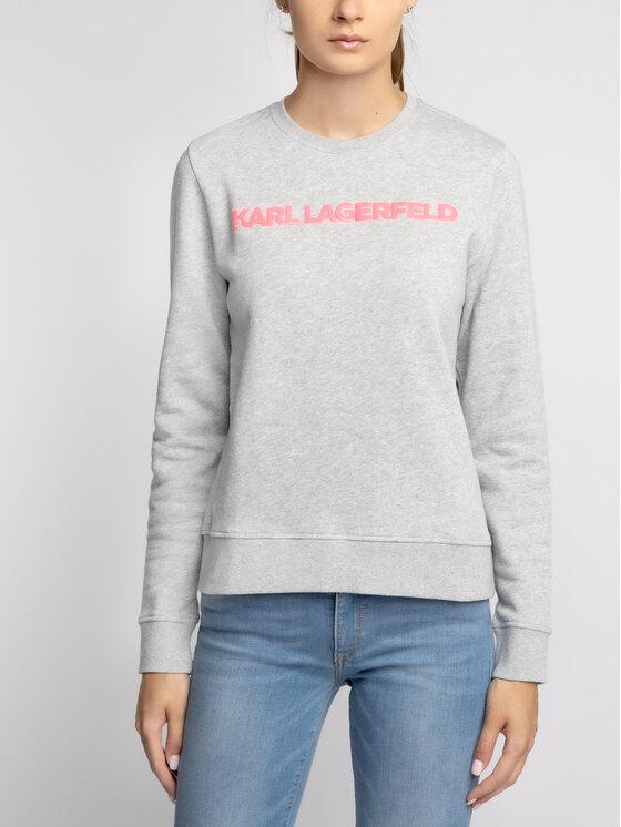 KARL LAGERFELD KARL LAGERFELD Džemperis 91KW1749 Pilka Regular Fit