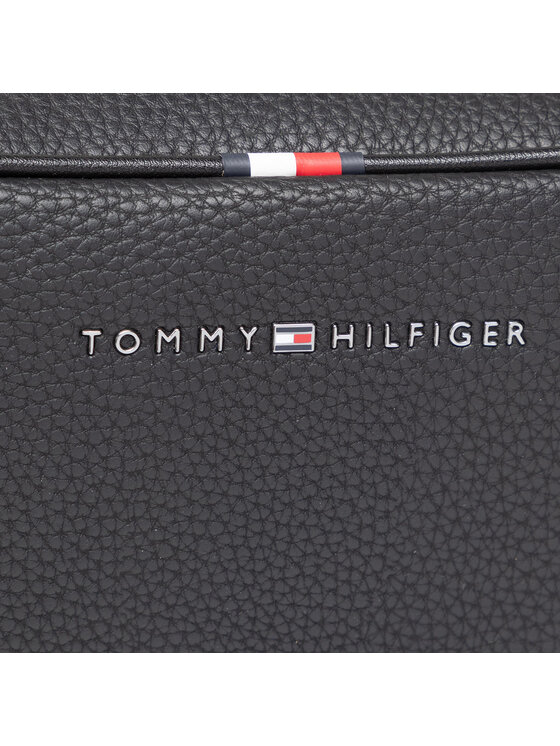 Tommy Hilfiger Tommy Hilfiger Kosmetyczka Essential Pu Wasbag AM0AM07284 Czarny