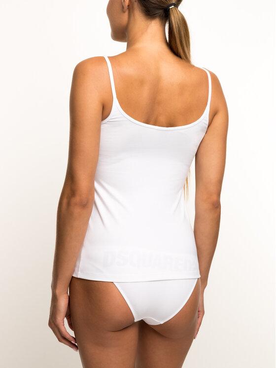 Dsquared2 Underwear Dsquared2 Underwear Топ D8D902360.11013 Бял Slim Fit