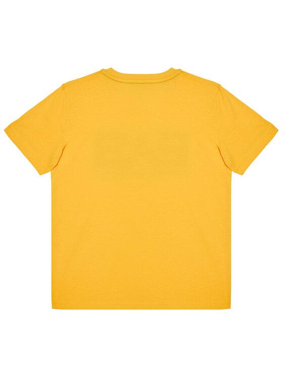EA7 Emporio Armani EA7 Emporio Armani T-Shirt 6HBT53 BJ7CZ 1603 Żółty Regular Fit