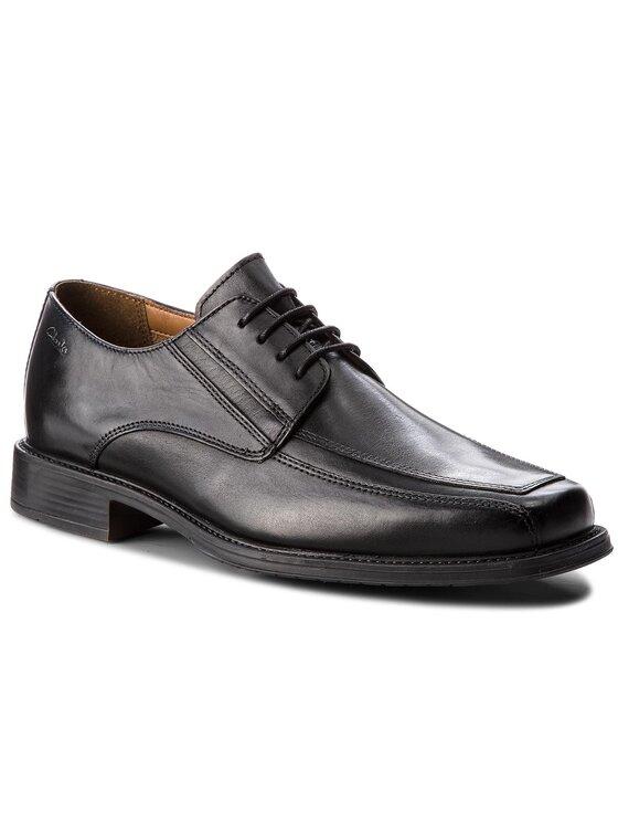 Clarks Clarks Обувки Driggs Walk 261103007 Черен