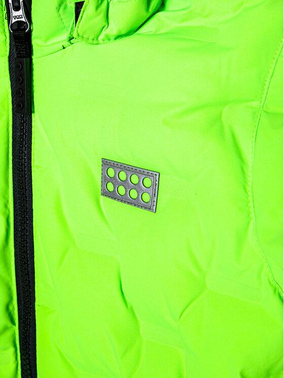 LEGO Wear LEGO Wear Kurtka narciarska LwJipe 706 22879 Zielony Regular Fit