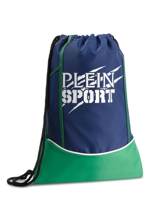 Plein Sport Maišo tipo kuprinė Backpack Original P19A MBA0708 STE003N Tamsiai mėlyna