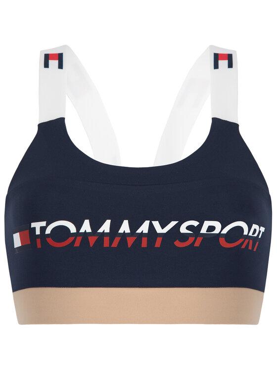 Tommy Sport Tommy Sport Podprsenkový top S10S100199 Tmavomodrá