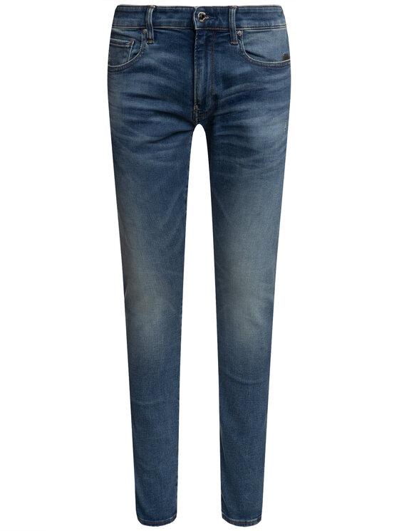G-Star RAW G-Star RAW jeansy Skinny Fit 51010-B605-A802 Blu scuro Skinny Fit