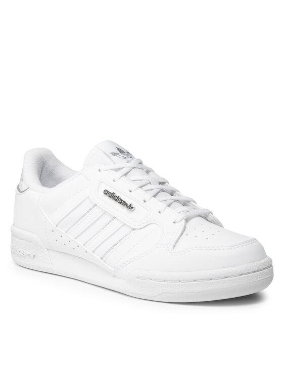 adidas adidas Обувки Continental 80 Stripes J H03944 Бял