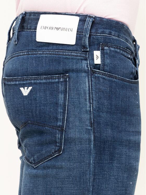 Emporio Armani Emporio Armani Jeans 3H1J06 1D9SZ F977 Dunkelblau Slim Fit