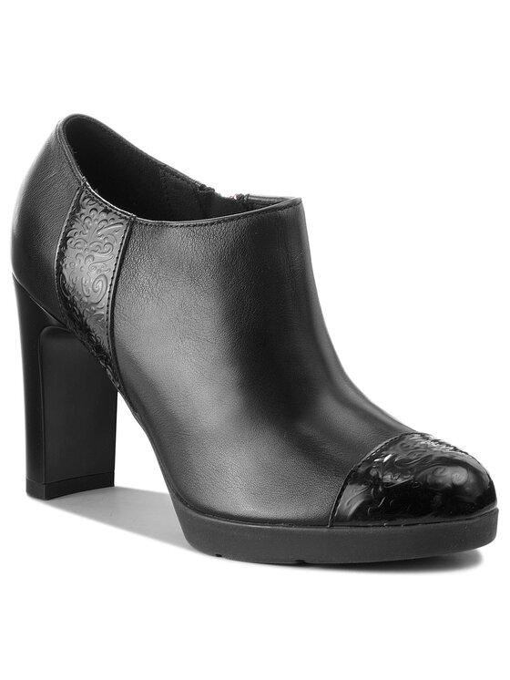 Geox Geox Pantofi D Anny H. D D84AED 08554 C9999 Negru