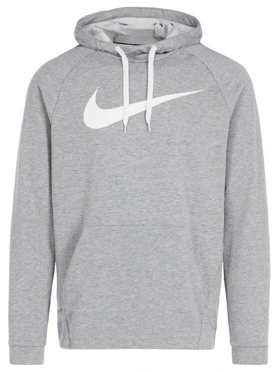 Nike Nike Bluza Dry Hoodie 885818 Szary Standard Fit