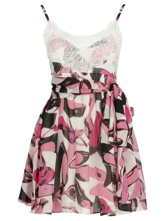 Pinko Pinko Sukienka letnia PE 19 UNQS 3U10HQ 7502 Różowy Regular Fit
