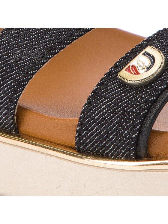 Wrangler Wrangler Szandál Karen Stripes WL181716 Fekete