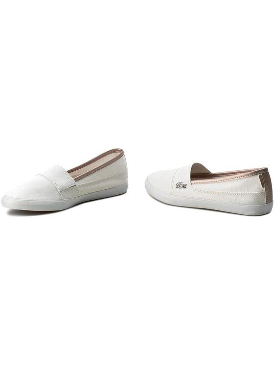 Lacoste Lacoste Πάνινα παπούτσια Marice 217 2 CAW 7-33CAW1080001 Λευκό