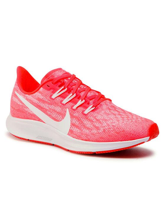 Nike Nike Buty Air Zoom Pegasus 36 AQ2210 601 Pomarańczowy