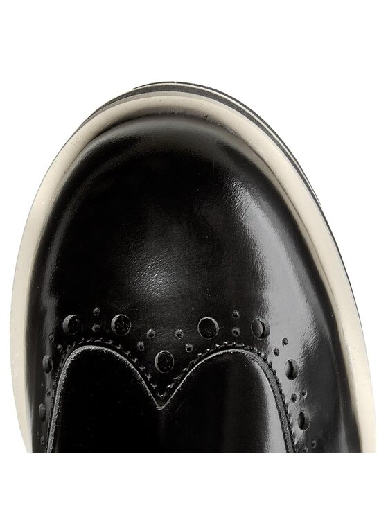 TOMMY HILFIGER TOMMY HILFIGER Oxford cipők Dani 2A FW56821798 Fekete