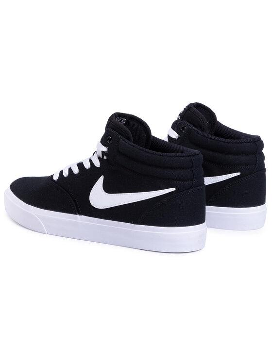 Nike Nike Cipő Sb Charge Mid Cnvs CN5264 001 Fekete