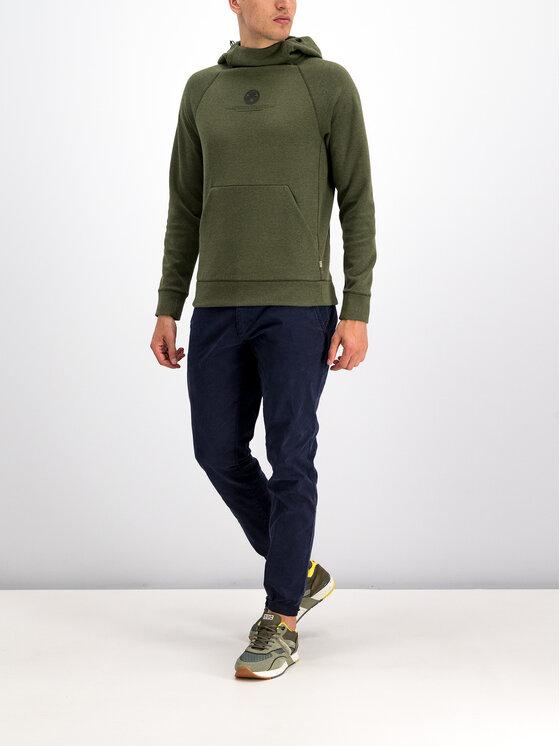 Napapijri Napapijri Bluza Balme H N0YIMV Zielony Regular Fit