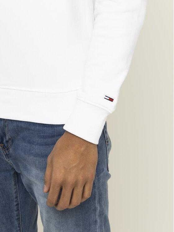 Tommy Jeans Tommy Jeans Mikina Tjm Essential Graphic Crew DM0DM07413 Biela Regular Fit